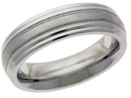 Wedding Band - 14k wedding band, available in 10k or 14k yellow or white gold.