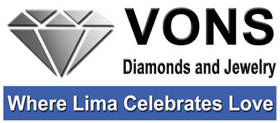 Von's Diamonds & Jewelry in Lima, Ohio - Fine jewelry, diamonds, engagement rings and wedding bands.